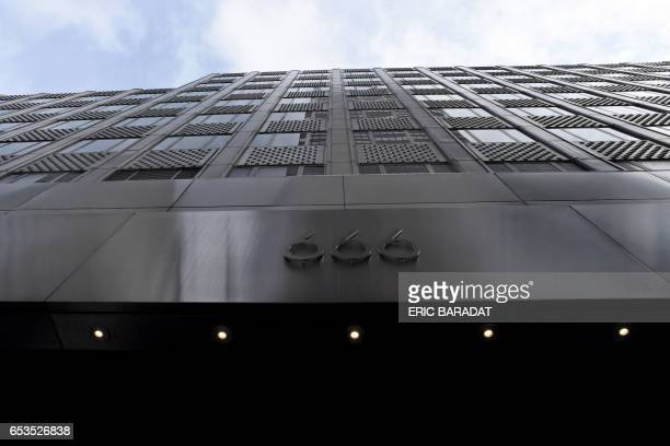 The building owned by the family of President Donald Trump's soninlaw Jared Kushner at 666 Fifth Avenue in Manhattan New York City is seen on March...