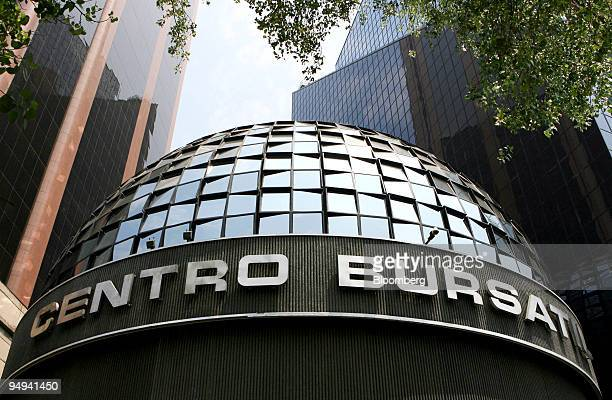 The building which houses the Mexican Stock Exchange or Bolsa Mexicana de Valores stands in Mexico City Mexico on Wednesday May 20 2009 Mexican...