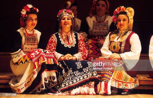 The Bulgarian State Television Female Vocal Choir perform Le Mystere Des Voix Bulgares Royal Festival Hall London 1994