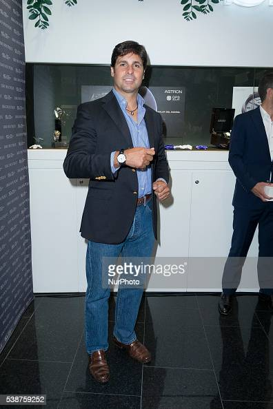 The bullfighter Francisco Rivera Ordonez special guest at the presentation of Seiko Basel event in Madrid Spain on June 8 2016
