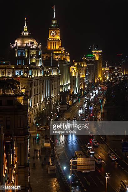 The Bund after dark - Shanghai