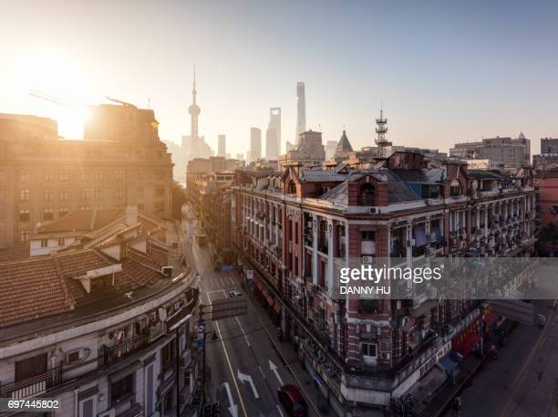 the bund at sunrise