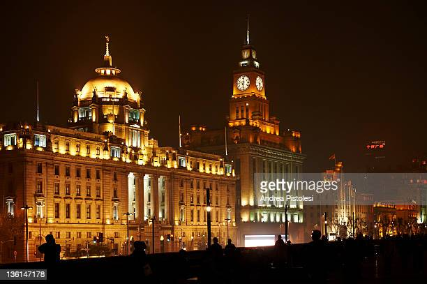 The Bund riverside in Shanghai