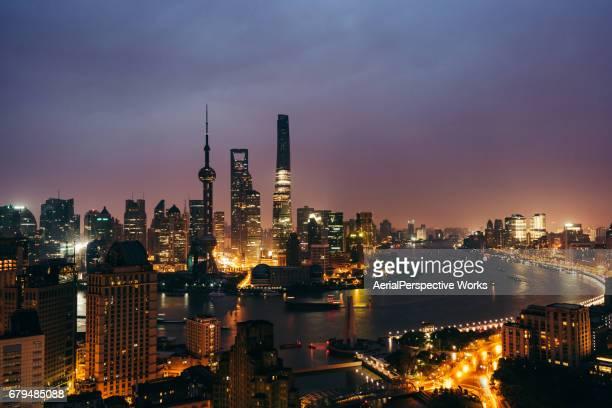 The Bund, Shanghai Skyline, Night