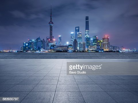 The Bund viewing platform