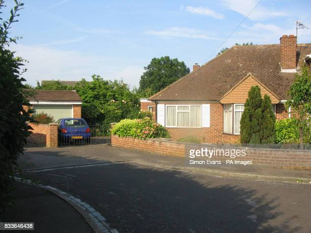 The bungalow of Irene Fairlie in Headington Close Pinkneys Green near Maidenhead in Berkshire