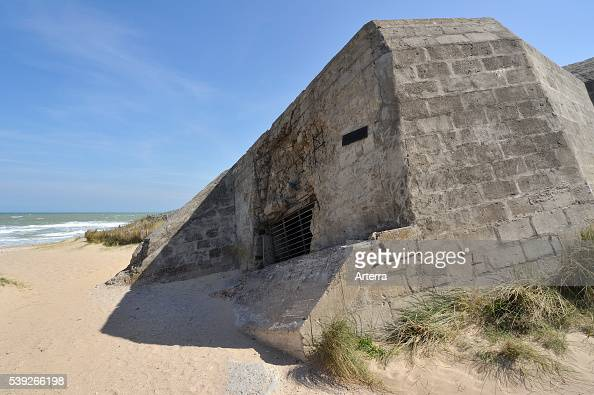 the-bunker-cosys-pillbox-at-juno-beach-courseullessurmer-normandy ...
