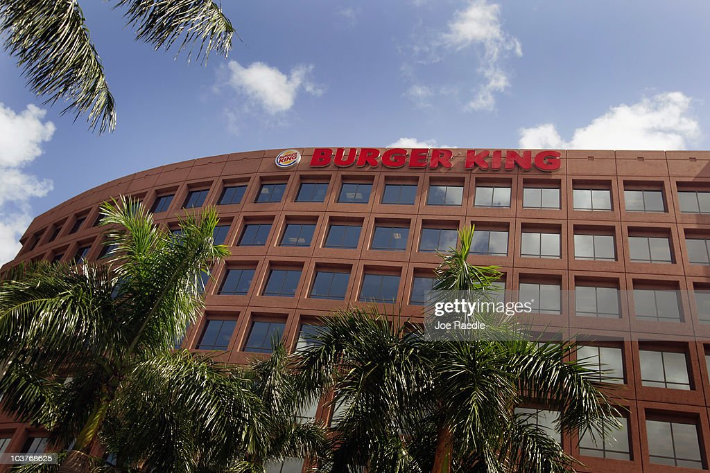 The Burger King headquarters building is seen as reports indicate the company may be considering a sale of itself on September 1, 2010 in Miami, Florida. Burger King is the second-largest hamburger chain in the United States.