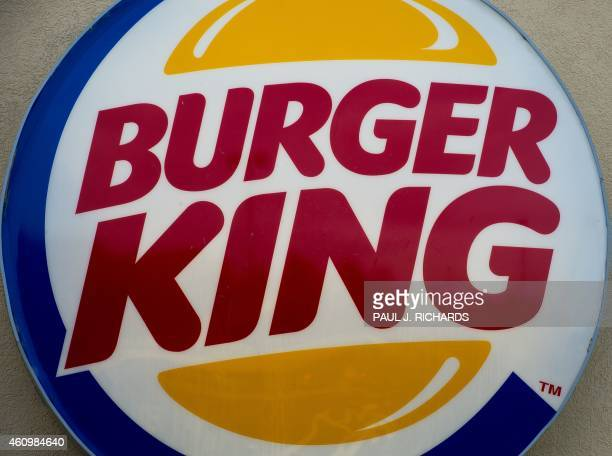 The Burger King restaurant logo is seen in Chantilly Virginia on January 2 2015 AFP Photo/PAUL J RICHARDS