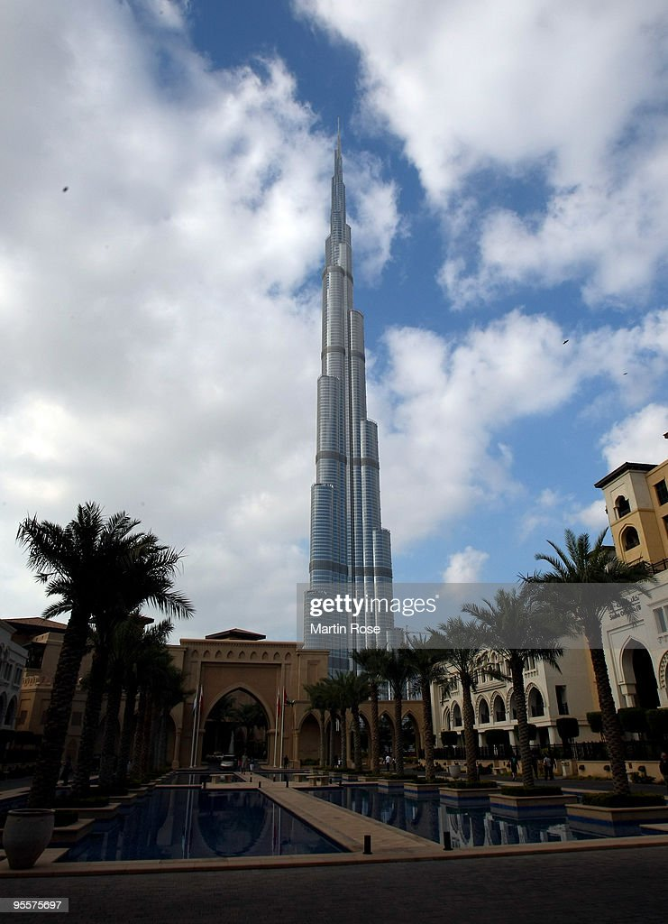 The Burj Dubai tower is pictured prior to the opening ceremony of the Burj Dubai tower on January 4, 2010 in Dubai, United Arab Emirates.The Burj Dubai, which in Arabic means Dubai Tower, is at 824.55 meters the world's tallest man-made structure.