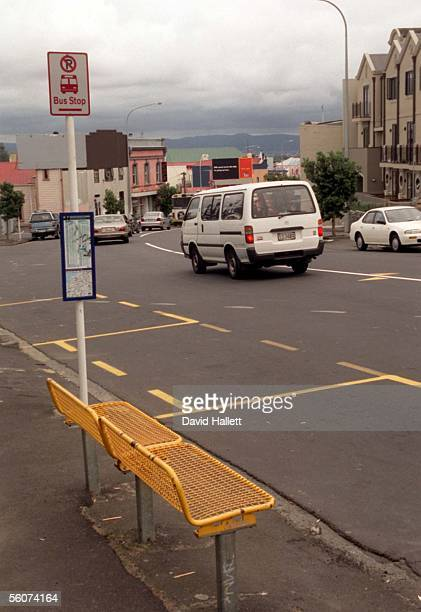 The bus stop on New North Rd were 23 year old Auckland hairdresser Marie Jamieson went to catch a bus home to Blockhouse Bay before she vanished 9...