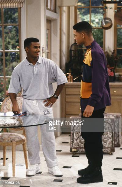 AIR 'The Butler Did It' Episode 11 Pictured Alfonso Ribeiro as Carlton Banks Will Smith as William 'Will' Smith Photo by Ron Tom/NBCU Photo Bank