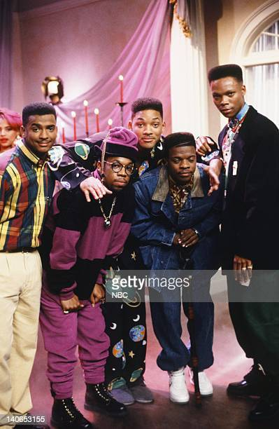 AIR 'The Butler Did It' Episode 11 Pictured Alfonso Ribeiro as Carlton Banks Ricky Bell as Himself Will Smith as William 'Will' Smith Michael Lamone...