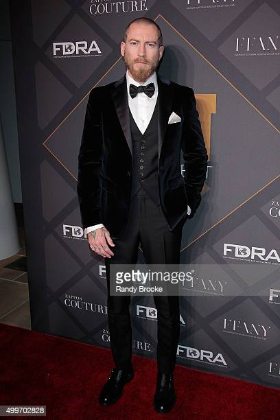 The Buying Director of MyTheresacom Justin O'Shea attends the 29th FN Achievement Awards at IAC Headquarters on December 2 2015 in New York City