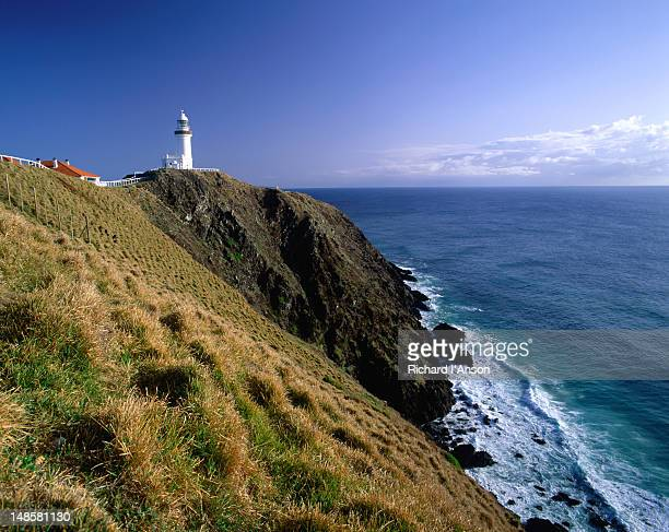 The Byron Bay lighthouse on the New South Wales North Coast. The lighthouse was built in 1901 and is said to be one of the most powerful in the southern hemisphere