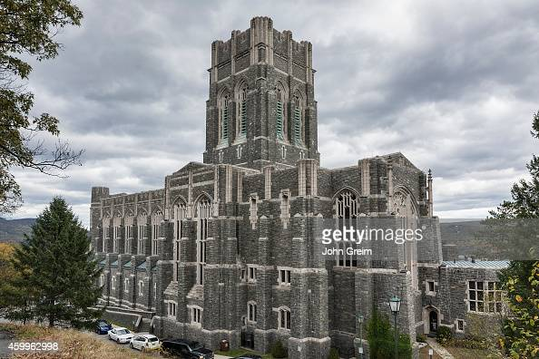 The Cadet Chapel West Point Military Academy campus