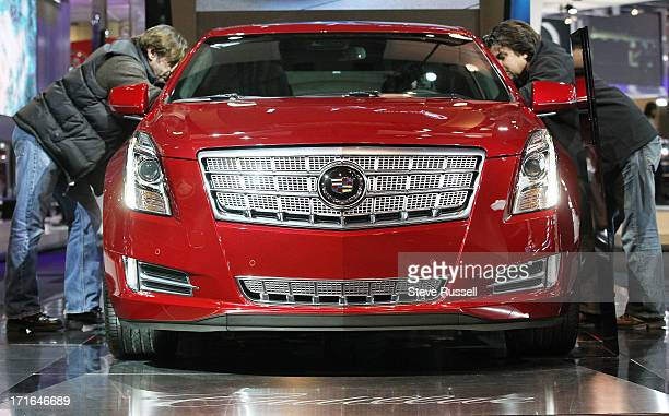 The Cadillac XTS at the Canadian International Auto Show at the Metro Toronto Convention Centre in Toronto February 19 2013 STEVE RUSSELL/TORONTO STAR