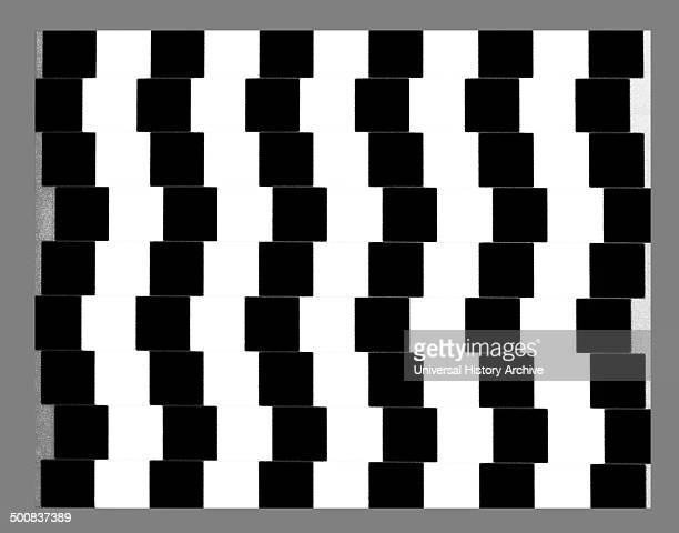 The café wall illusion is an optical illusion first described by Doctor Richard Gregory He observed this curious effect in the tiles of the wall of a...