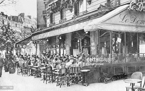 The Cafe Brasserie du Dome Montparnasse Paris