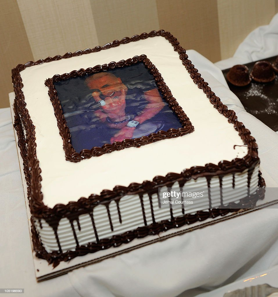 The cake for singer/musician Dee Snider at the after party for Dee Snider's Broadway debut in 'Rock of Ages' at The Glass House Tavern on October 11, 2010 in New York City.