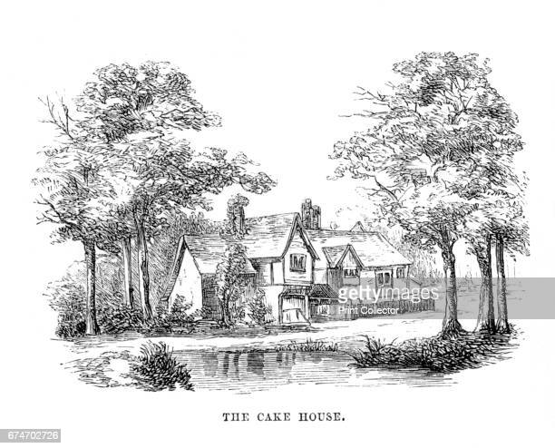 The Cake House' c1870 A Lodge in Hyde Park which in Queen Anne's time was more generally called the Cake House or Mincepie House and according to the...