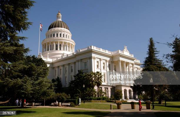 The California state Capitol building is shown October 9 2003 in downtown Sacramento California Actor Arnold Schwarzenegger won in his bid to replace...