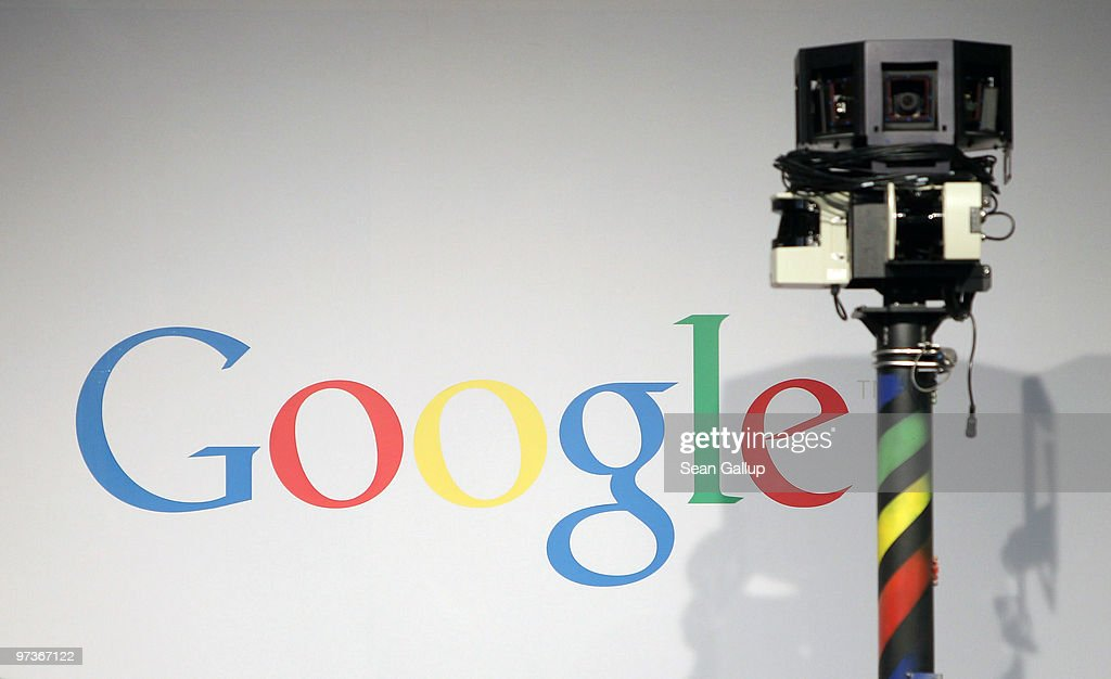 The camera of a German Google Street View car looms over the car next to the Google logo at the Google stand at the CeBIT Technology Fair on March 2, 2010 in Hannover, Germany. Google's Street View project has raised cotroversy from people across Europe worried about infringement of their privacy. CeBIT will be open to the public from March 2 through March 6.