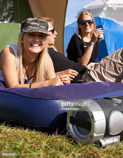 Die camping-crew