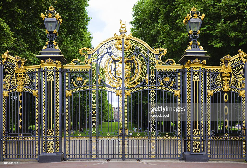 'The Canada Gate at Green Park in London, England'