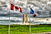 The Canadian National Vimy Ridge Memorial in France