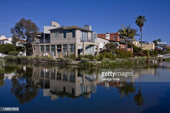 The canals of this sleepy beach city are a popular destination for tourists on April 15 2012 in Venice California Millions of tourists flock to the...
