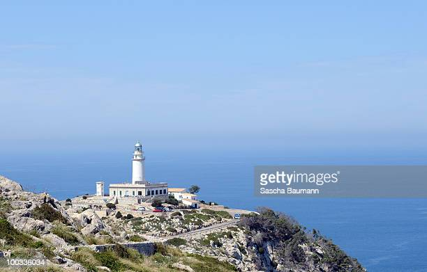 The Cap de Formentor at the eastern end of the peninsula Formentor on May 22 2010 in Soller Mallorca Spain