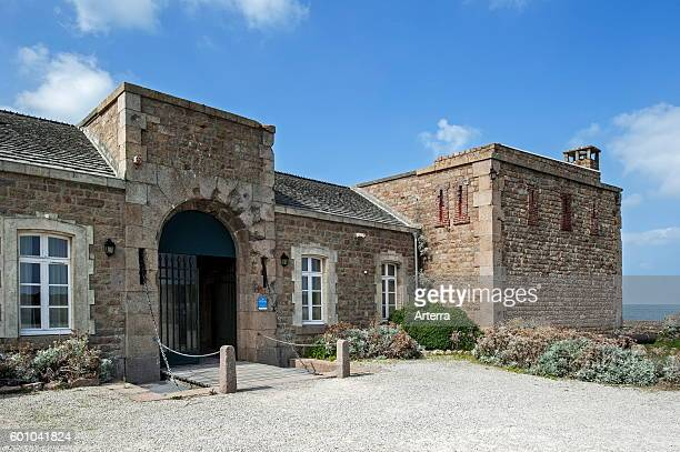 The Cap Levi Fort erected in 1801 at the request of Napoleon Fermanville Lower Normandy France