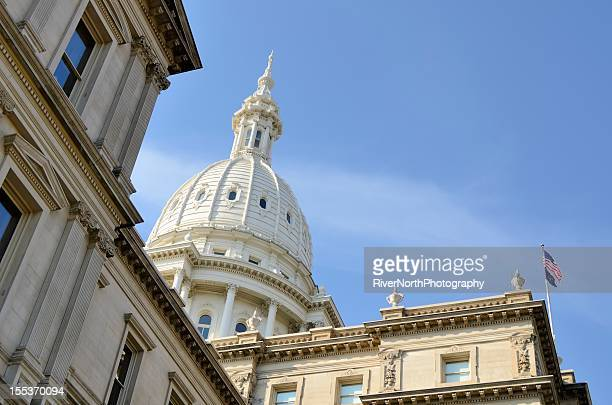 The capital building located in Lansing