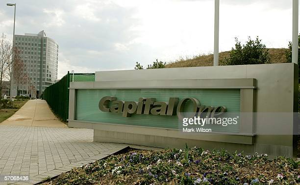 The Capital One headquarters is shown March 13 2006 in Mclean Virginia It was announced that Capital One Financial Corp is buying North Fork Bancorp...