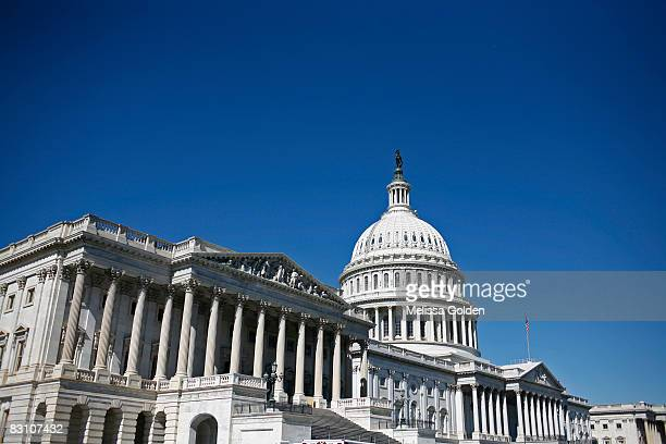 The Capitol Building is seen on October 2008 in Washington DC The House of Representatives passed a revised version of the financial rescue package...
