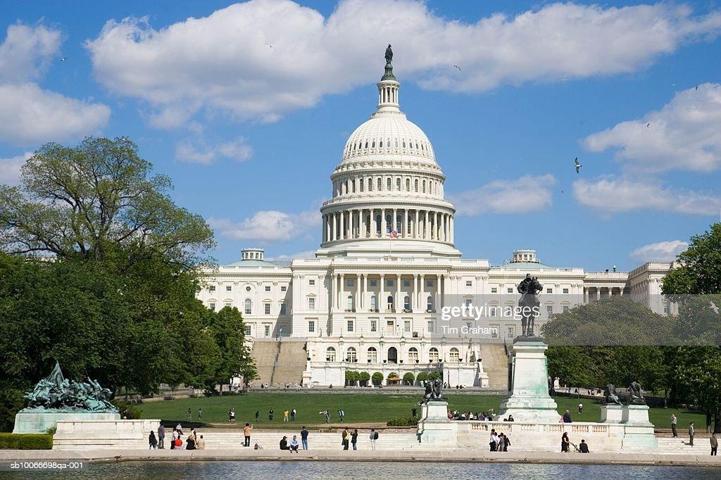 The Capitol Building, Washington, USA : Stock Photo