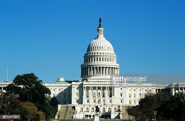 The Capitol seat of the United States Congress Washington DC District of Columbia United States of America 18th19th century