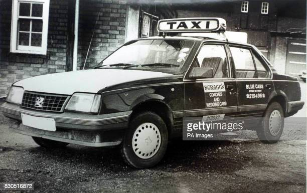 The car driven by Stoke taxi driver Steven Johnson murdered 10 years ago at Mow Cop on the Staffordshire/Cheshire border Police are reexamining...
