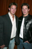 Kyle Carlson and Lane Carlson male model duo of Abercrombie Fitch fame