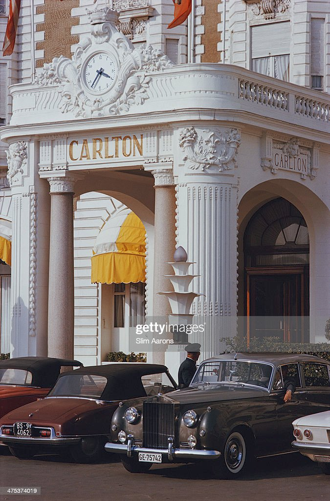 The Carlton Hotel in Cannes France 1963