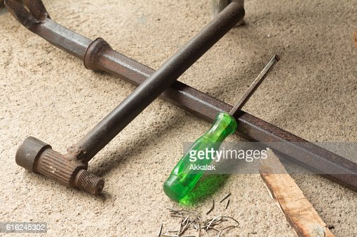 La Carpentiere strumenti : Foto stock