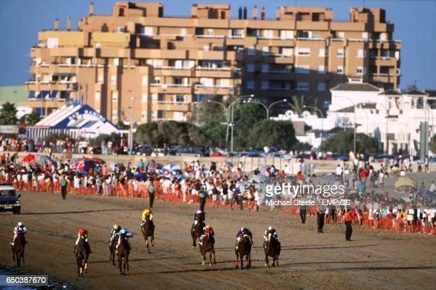 The 'Carreras De Caballos' run ever year in San Lucaar Barrameda Southern Spain which takes place over three days with horses entered from France...