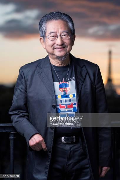 the cartoonist Go Nagai Creator of cartoon character Goldorak is photographed for Paris Match in Paris on October 30 2017