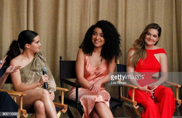 TYPE The cast and creators of Freeform's new original series 'The Bold Type' come together for a premiere screening and panel at The Roxy Hotel in...