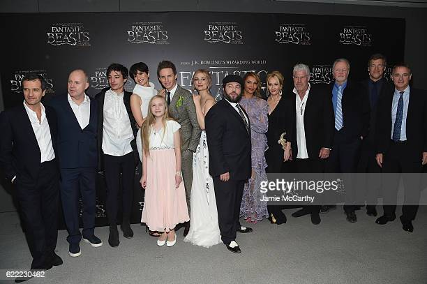 The Cast and Crew attend the 'Fantastic Beasts And Where To Find Them' World Premiere at Alice Tully Hall Lincoln Center on November 10 2016 in New...