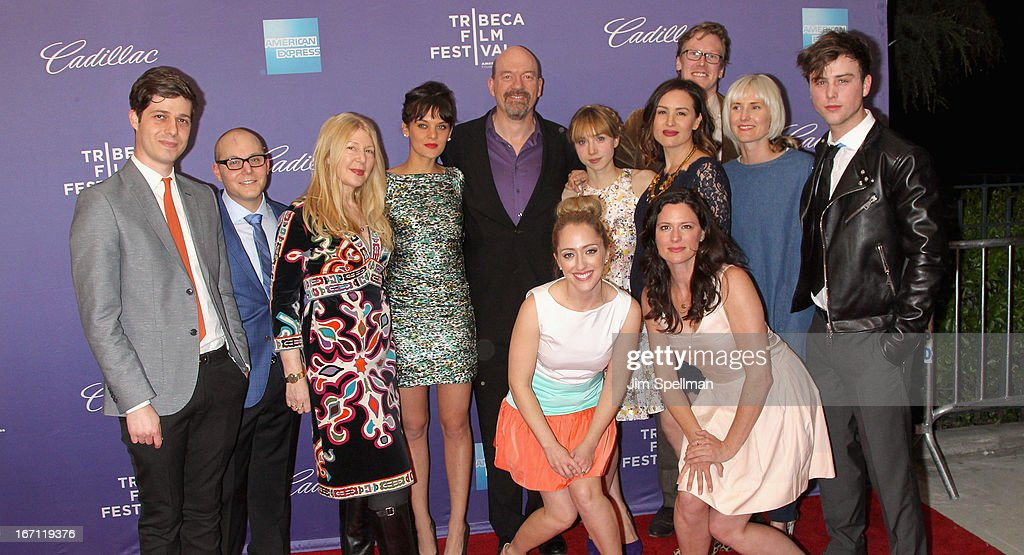 The cast and crew attend the screening of 'The Pretty One' during the 2013 Tribeca Film Festival at SVA Theater on April 20, 2013 in New York City.