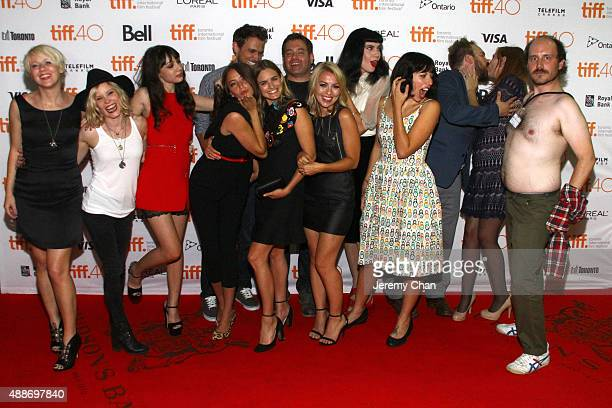 The cast and crew attend the 'Southbound' photo call during the 2015 Toronto International Film Festival at Ryerson Theatre on September 16 2015 in...