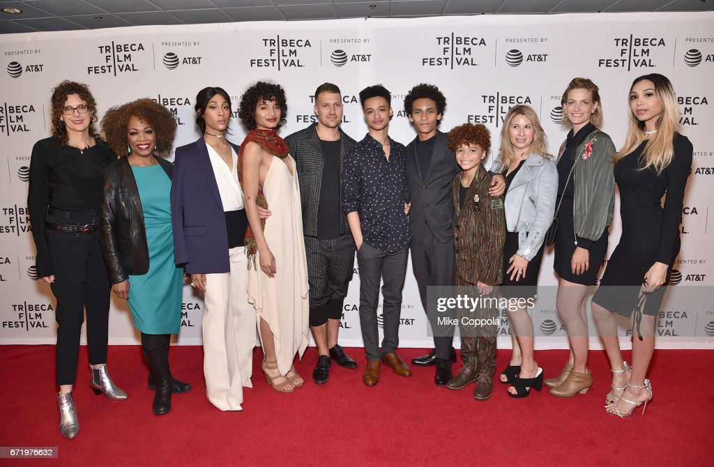 The cast and crew of 'Saturday Church' attend the 'Saturday Church' Premiere during the 2017 Tribeca Film Festival at Cinepolis Chelsea on April 23, 2017 in New York City.