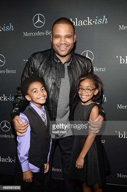 ISH The cast and crew of ABC's critically acclaimed hit comedy 'blackish' celebrate the end of season one at a wrap party sponsored by MercedesBenz...